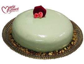 "4 days to Mother's Day!!! ""Mousse Pistachio et sa mousse de Framboise"""